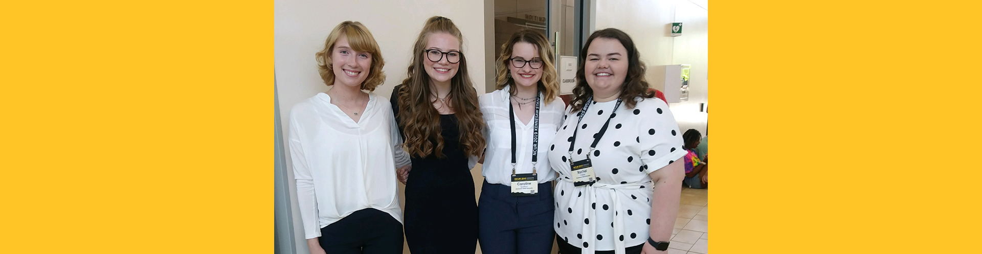 First-year Thrivers presented at national conference!