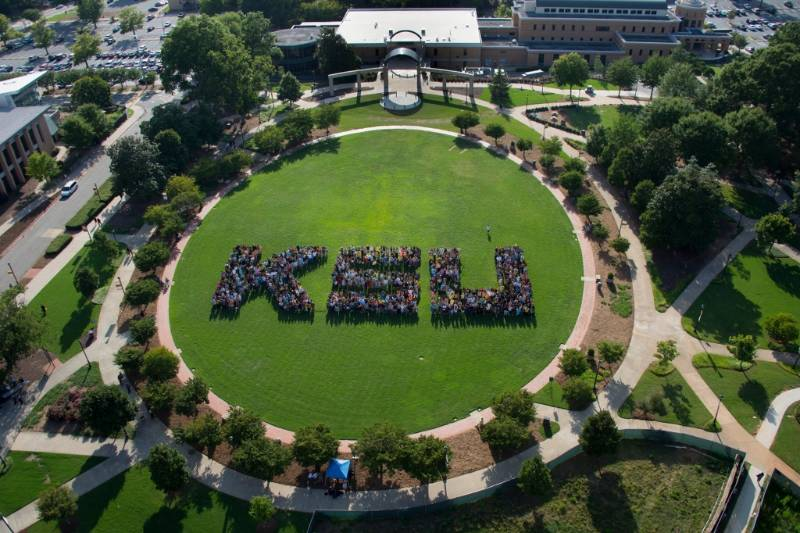 Aerial View of KSU