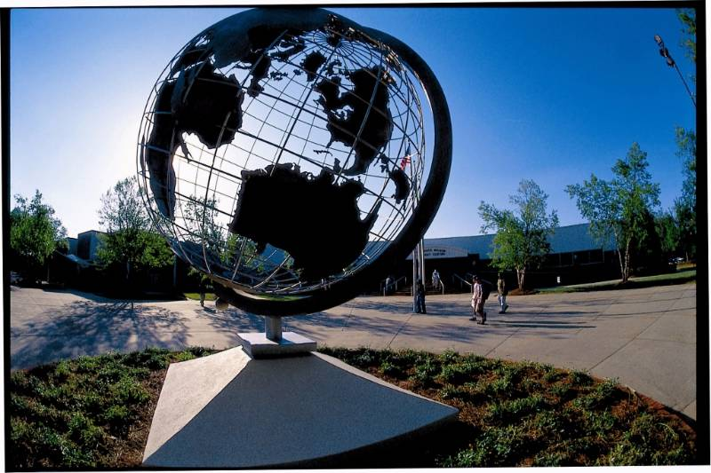 Globe at the Marietta Campus