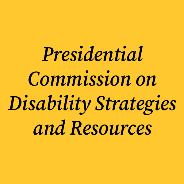 Disability Strategies and Resources